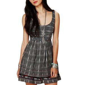 Free People New Romantics Weathervane Ikat Dress